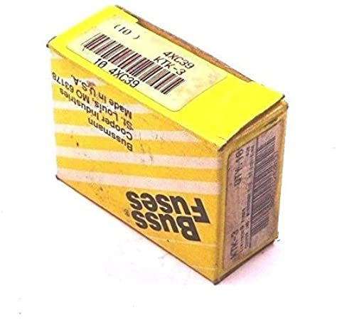 [SCHEMATICS_4PO]  Bussmann KTK-3 Fast Acting 3 Amp Limitron Fuse KTK3 (10 PACK) - - Amazon.com   Sealed Fuse Box Circuit 3      Amazon.com