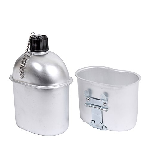 Rothco Aluminum Canteen Cup - Rothco G.I. Style Aluminum Canteen