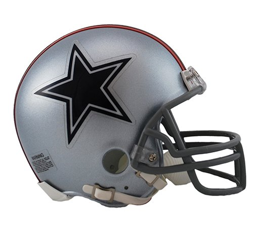 Riddell Mini Replica Throwback Helmet - Dallas Cowboys 1976 Throwback NFL Riddell Replica Mini Helmet