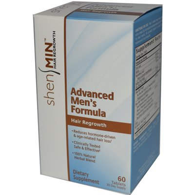Shen Min Hair Nutrient Advanced Men'S Formula - 60 Tablets - Pack Of 1
