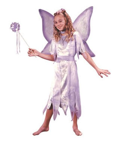 Water Fairy Halloween Costume (Watercolor Fairy Costume - Child Costume - Medium (8-10))
