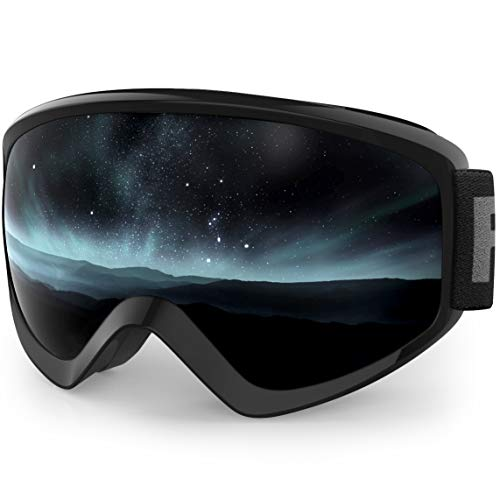 findway Kids Ski Goggles, Kids Snow Snowboard Goggles for Boys Girls Youth Age 8-16,Helmet Compatible,100% UV400 Protection,Anti Fog Double-Layer Lenses,Over Glasses OTG Design,Non-Slip Strap