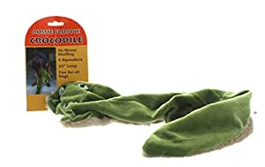Outback Jack Aussie Floppie Crocodile Stuffing Free Squeaker Dog Toy