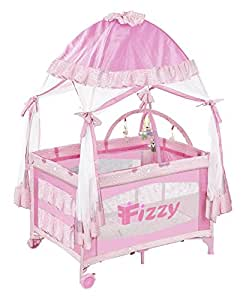 Amazon Com Fizzy Canopy Play Pen Pink Baby