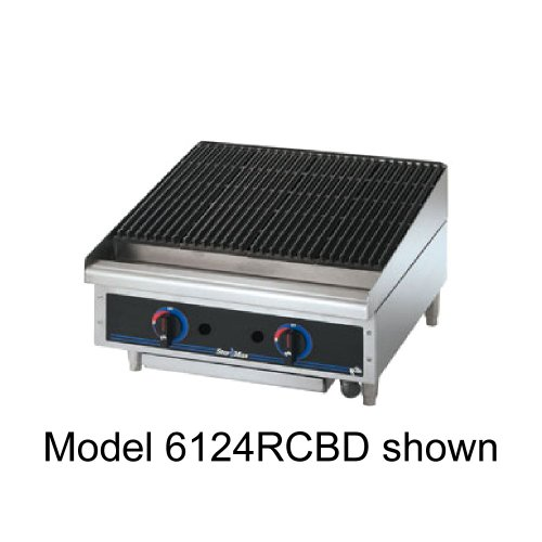 Star 6115RCBF Star-Max Radiant Gas 15'' Char-Broiler by Star