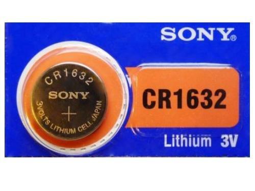 Sony CR1632 3 V pila de botón de litio 10 unidades (2 paquetes de 5): Amazon.es: Electrónica