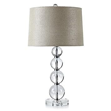 ZR Lámpara de Mesa de Cristal Moderna lámpara de mesita de ...