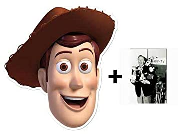 MASK: Pack* Woody Face (Toy Story) (máscara/careta)