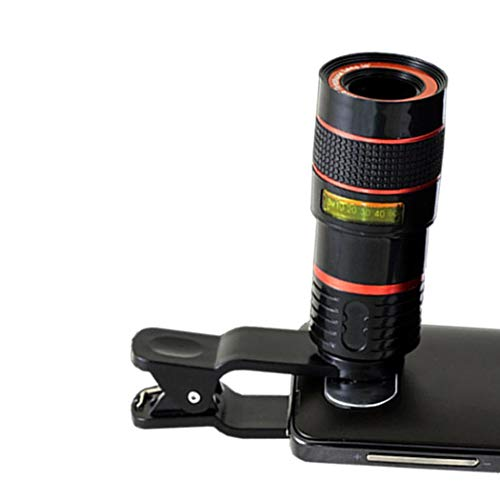 Chiak General HD 8X Optical Telescope Zoom Clip-on Cell Phone Camera Accessory Kits