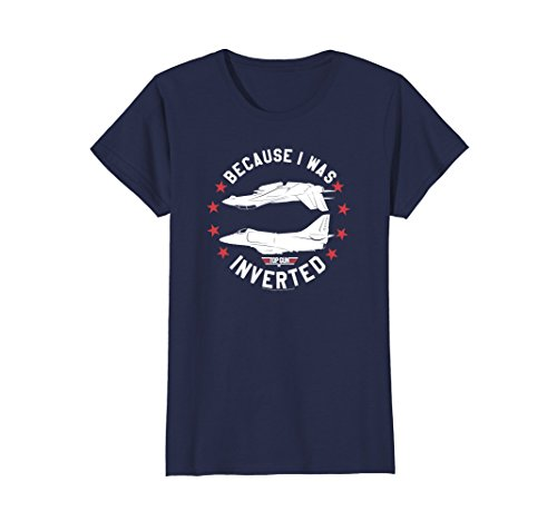 Women's or Men's Top Gun Inverted T-shirt in 5 Colors