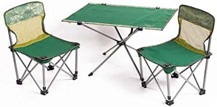 Xwzz Silla de Picnic Silla de Camping Mesa de Picnic Juego de Mesa y Silla para Exteriores Adecuado para Acampar Jardines Playas barbacoas Excursionistas Adecuado para Dos Personas acampando: Amazon.es: Deportes y