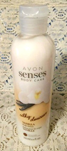 Avon Vanilla Body Lotion (Avon Senses Body Care Silky Vanilla Body Lotion)