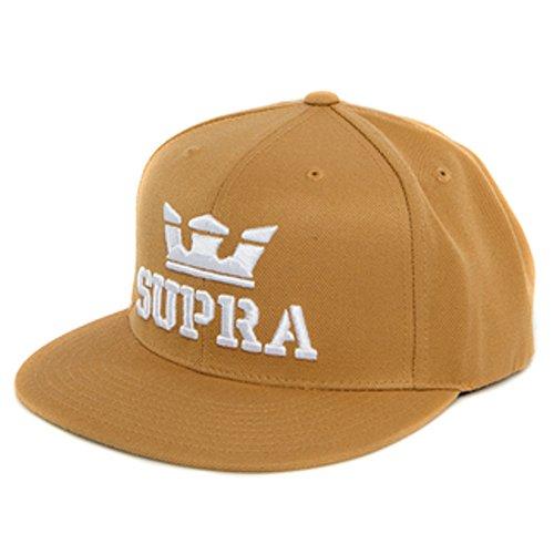 (Supra C3501 Above Snap Hat, Woodthrush-White - 1SZ)