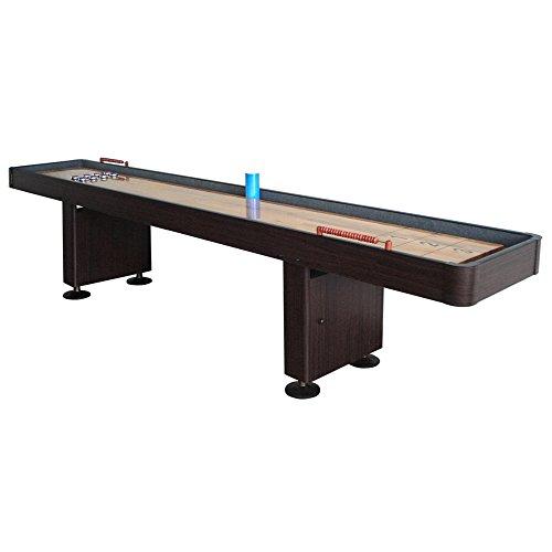 Hathaway Challenger Shuffleboard, Walnut, 9-Feet