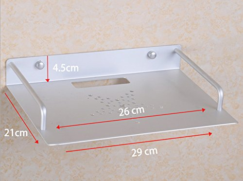 TV Accessories /& Parts Alumimum Alloy Wall Mount Shelf Bracket For WiFi Router