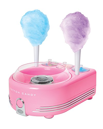 Nostalgia COT5PK Hard & Sugar-Free Candy, Deluxe Cotton Candy Maker ()