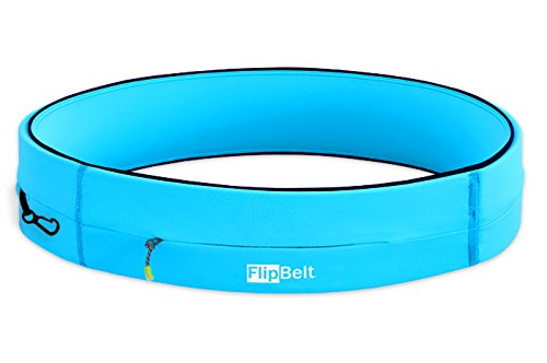 FlipBelt Running & Fitness Workout Belt, Aqua, X-Small by Level Terrain (Image #5)