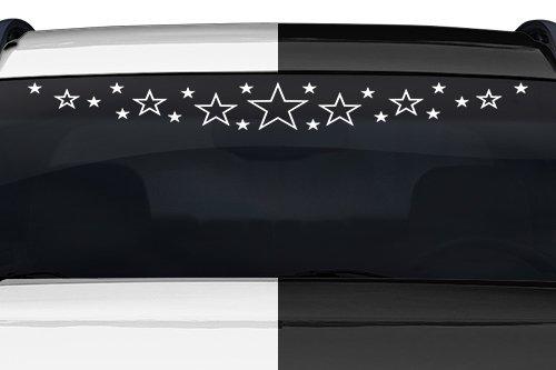 Sticky Creations - Design #102-05 Stardust Star Dust Starburst Windshield Decal Sticker Vinyl Graphic Rear Window Banner Tailgate Car Truck SUV Van Boat Trailer Wall   36