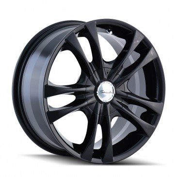 Sacchi S2 16 Black Wheel / Rim 4×100 & 4×4.5 with a 40mm Offset and a 67.1 Hub Bore. Partnumber 220-6701B