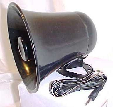 PA Horn SPEAKER w/ Plug & Wire - 5 inch for CB / Ham Radio (Cb Radio Pa)