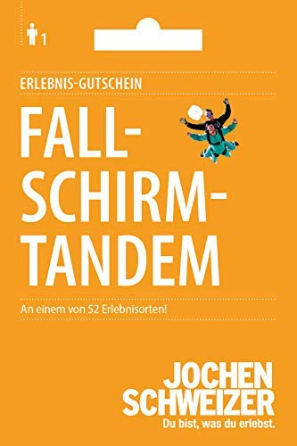 Fallschirm-Tandem Sprung Jochen Schweizer Geschenkkarte