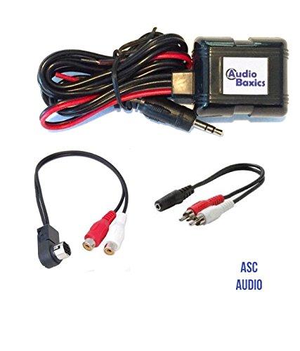 Bluetooth Wireless Car Stereo Radio Music Adapter for Alpine Ai-Net CDA TDA CD Changer (Rca Car Cd Changer)