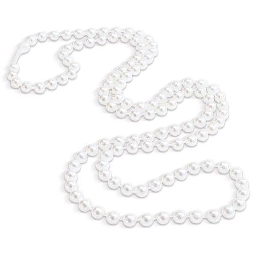Dozen White Pearl Necklaces Halloween