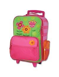 Stephen Joseph girls little girls' rolling luggage