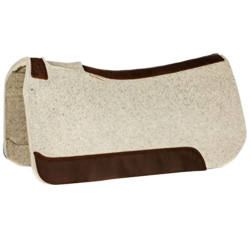 NRS 5 Star Equine 1 Natural 32 x 32 Performer Saddle Pad
