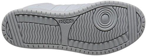adidas Vs Hoopster Mid W, Scarpe da Ginnastica Donna, Bianco (Ftwbla/Ftwbla/Ftwbla), 36 EU