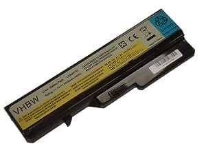 BATERÍA LI-ION 4400mAh 11.1V negra para IBM Lenovo IdeaPad B470 etc. sustituye a: 121000935, 121000937, 121000938, 121000939, 121000992