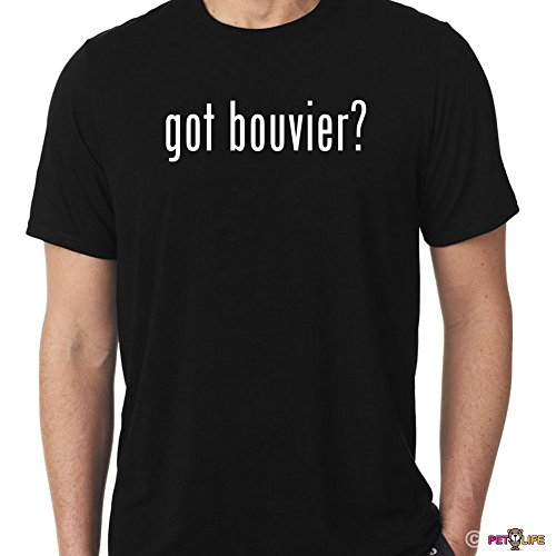 Mister Petlife Men's Got Bouvier Tee Shirt #2 des Flandres XL Black