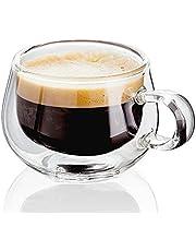 مج بايركس للقهوة من الزجاج المزدوج 100 مل