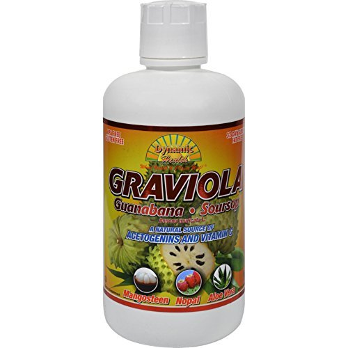 Dynamic Health Graviola Guanabana-Soursop Extract Superfruit Juice Blend - 32 oz by Dynamic Health