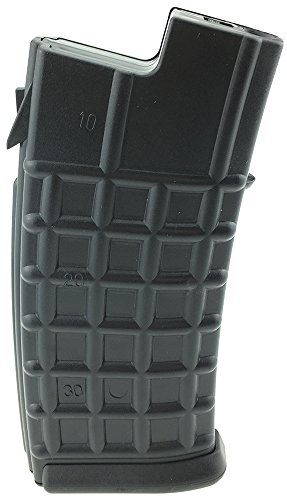 SportPro 80 Round Polymer Waffle Low Capacity Magazine for AEG AUG Airsoft - Black by SportPro
