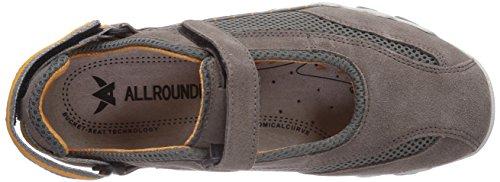 Allrounder by Mephisto NIRO C.SUEDE 60/S. MESH 60 GRIGIO - Zapatillas De Deporte Para Exterior de terciopelo mujer Gris