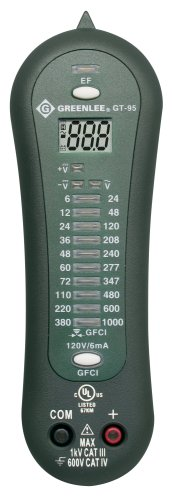 Price comparison product image Greenlee GT-95 Voltage Tester with LED and GFCI