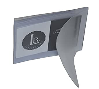 SET of 2 - 6 Page Plastic Wallet Insert for Bifold Billfold SIDE LOAD