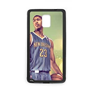 Snap-on New Orleans Pelicans Anthony Davis Cool Number 23 Design Hard Protective Back Case Cover Shell for SamSung Galaxy Note4-2