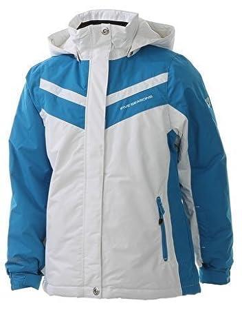 Five Seasons Girls Denize Ski Snowboard Jacket   Pants Suit White 5-6 Years   Amazon.co.uk  Sports   Outdoors ac6a0a0f7