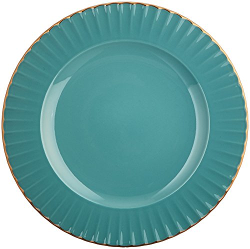 Marchesa Shades of Teal Accent Plate by Lenox (Green Plate Teal Salad)