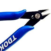 TDOK TD-170 Flush Cutter Internal Spring Cutting Pliers (5-Inch) Blue