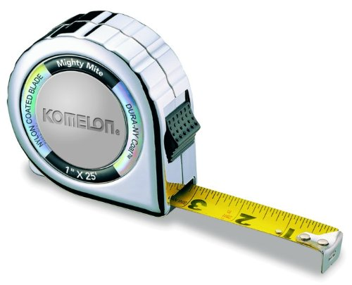 4-pack-komelon-525c-25-x-1-mighty-mite-compact-case-tape-measure-chrome