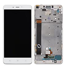 for Xiaomi Redmi Note 4 Replacement HYYT LCD Display and Touch Screen Digitizer Glass Replacement with Frame Full Assembly for XiaoMi Redmi Note 4 (whiite)