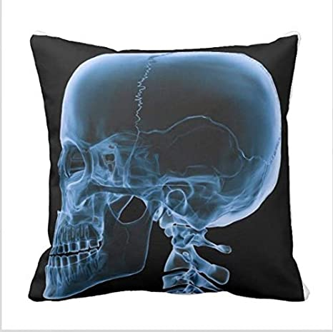 Amazon.com : Gaming Mouse Pad X-Ray Skull for Desktop and ...