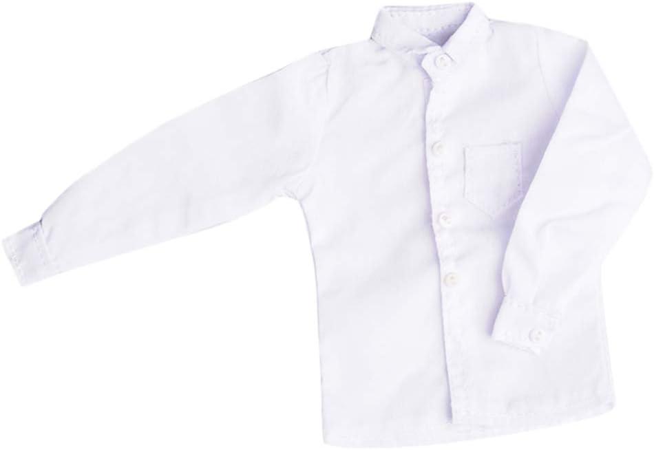 1//6 Camicia Uomo Corpo Maschile abiti per 12 Pollici Figura soldato accessori BLU