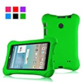 7 inch lg tablet protective case - Bolete Ultra Light Weight Shock Proof Protective Case for LG G pad V400 / V410 (LTE) / UK410 / VK410 7 inch LG Tablet - Green