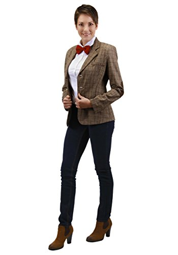 Who Doctor Dr 11th Costume (Elope Dr. Who: Eleventh Doctor Jacket -)