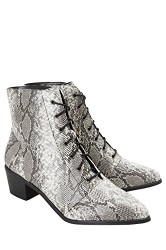 À amp; Lacets Next Style Flat Femme Xuwqcags Western Serpent Bottines Cv6rW85vn