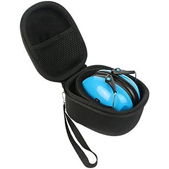 acolchado Beb/és protecci/ón para los o/ídos adultos mujeres peque/ños/ heartek Kids protecci/ón auditiva orejeras con viaje Bag- Junior protectores de o/ído para los ni/ños para beb/é /a